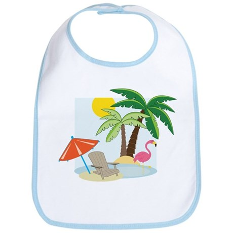 Summer Beach Bib