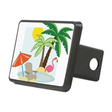 Summer Beach Hitch Cover