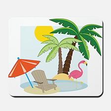 Summer Beach Mousepad