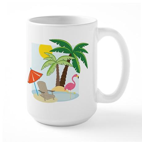 Summer Beach Large Mug
