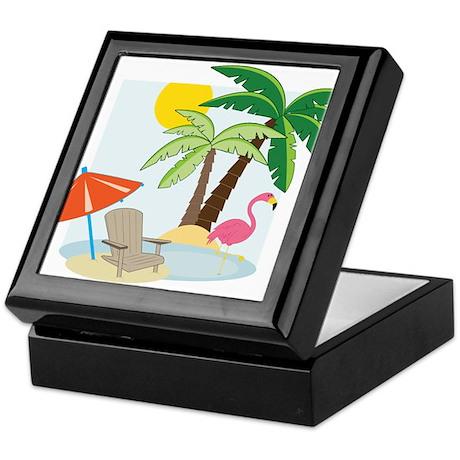 Summer Beach Keepsake Box