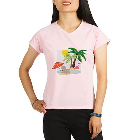 Summer Beach Performance Dry T-Shirt