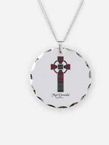 Cross - MacDonald of Glencoe Necklace Circle Charm
