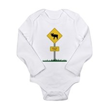 Moose Crossing Infant Creeper Body Suit