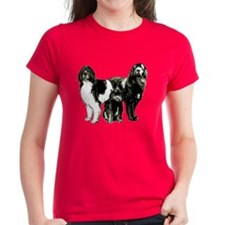 Newfoundland dog family Tee