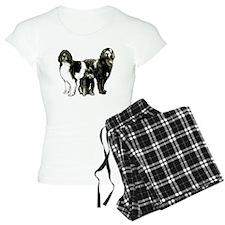 Newfoundland dog family Pajamas
