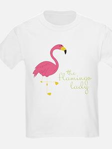 The Flamingo Lady T-Shirt