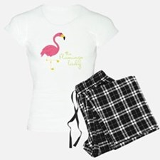The Flamingo Lady Pajamas