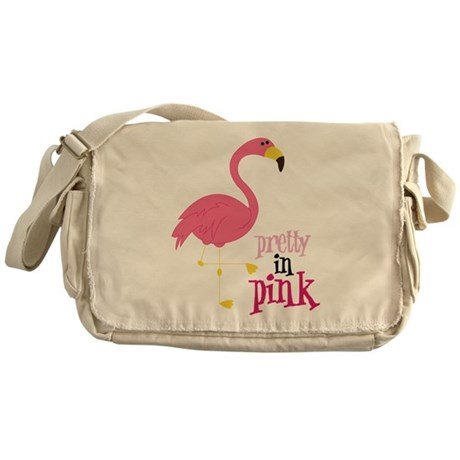 Pretty In Pink Messenger Bag