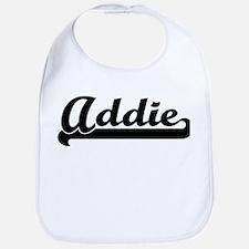 Black jersey: Addie Bib