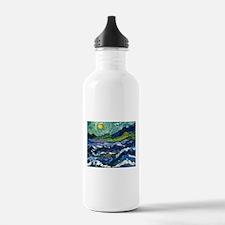 Van Goghs Sky Water Bottle