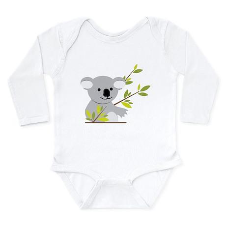 Koala Bear Long Sleeve Infant Bodysuit