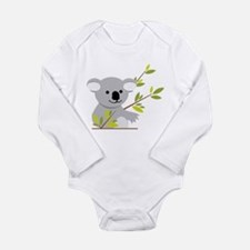 Koala Bear Long Sleeve Infant Bodysuit