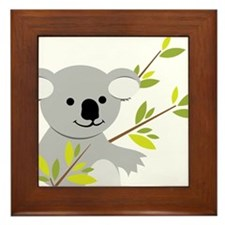Koala Bear Framed Tile
