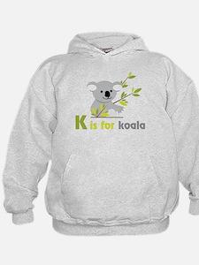 K Is For Koala Hoodie