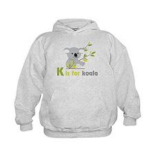 K Is For Koala Hoody