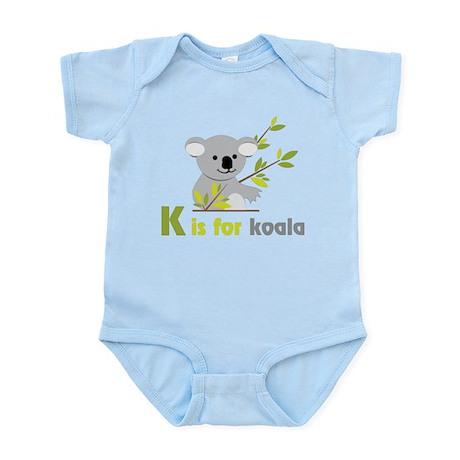 K Is For Koala Infant Bodysuit