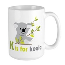 K Is For Koala Ceramic Mugs