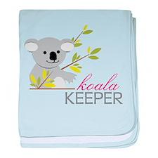 Koala Keeper baby blanket