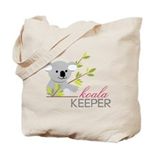 Koala Keeper Tote Bag