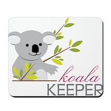 Koala Keeper Mousepad