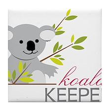 Koala Keeper Tile Coaster