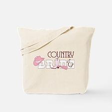 Country Bride Tote Bag