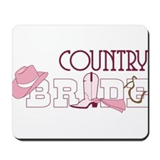 Country Bride Mousepad