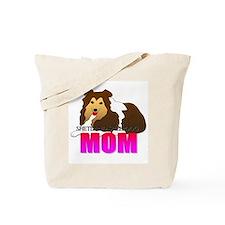 Shetland Sheepdog Mom Tote Bag