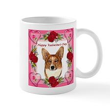 Valentine Pippin Hearts and Roses Mug