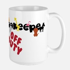 Off Duty Large Mug