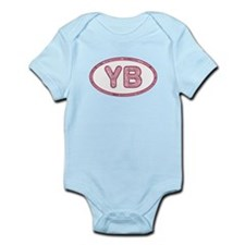 YB Pink Infant Bodysuit
