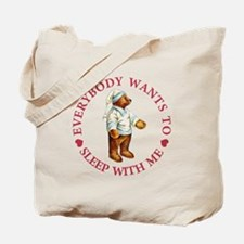 Sleepy Time Bear Tote Bag