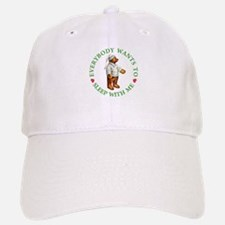Sleepy Time Bear Baseball Baseball Cap