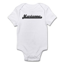Black jersey: Marianna Infant Bodysuit