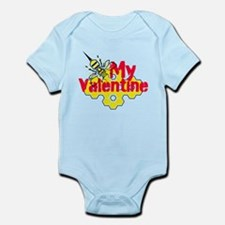 Bee My Valentine Infant Bodysuit
