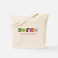 Save The Jungle Tote Bag