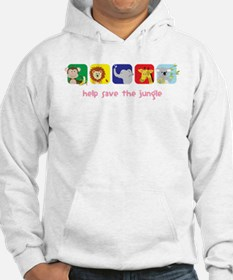 Save The Jungle Hoodie