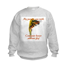 Sun Conure my parrot can fly Steve Duncan Sweatshirt