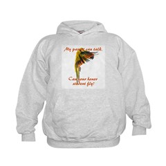 Sun Conure my parrot can fly Steve Duncan Hoodie