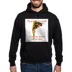 Sun Conure my parrot can fly Steve Duncan Hoodie (