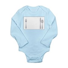 Utensils Long Sleeve Infant Bodysuit
