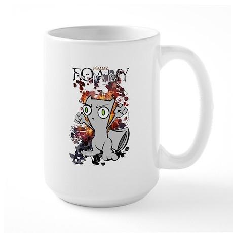 Squirrely Wrath Large Mug
