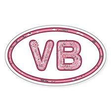 VB Pink Decal