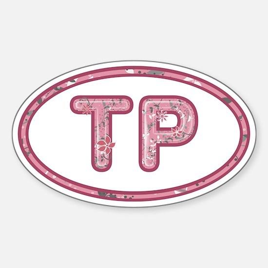 TP Pink Sticker (Oval)