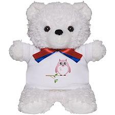 Awareness Owl Teddy Bear