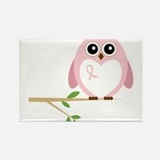 Awareness Owl Rectangle Magnet