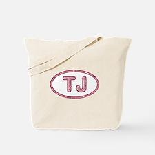 TJ Pink Tote Bag
