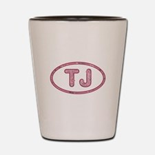 TJ Pink Shot Glass