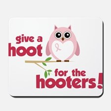 Give A Hoot Mousepad